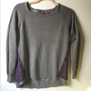 Lilla Knit Lace Women's Sweater